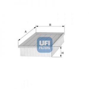 UFI Filtre à air 5018338 1336397 13363973 91610337 8003453133914